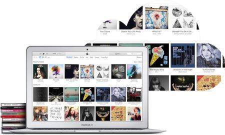 iTunes Match Header