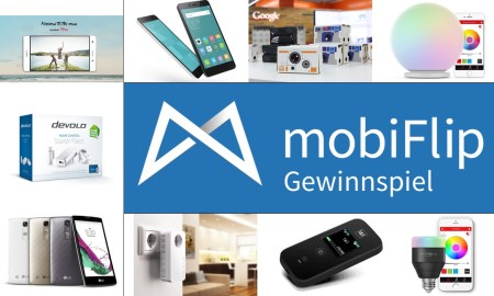mobiFlip Gewinnspiel Verlosung 2015