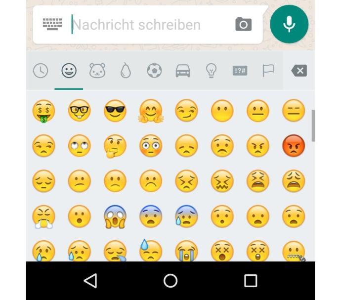 WhatsApp für Android bekommt neue Emojis