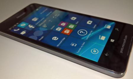 Lumia 650 Prototyp