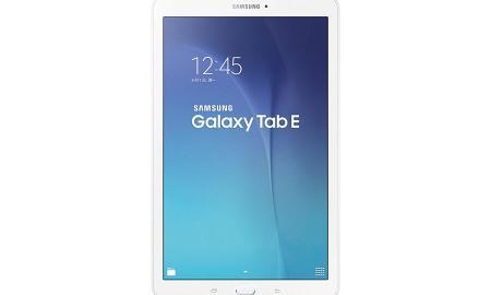"""Das Galaxy Tab E, hier in der Version mit 9,6"""" Display"""