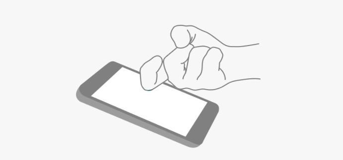 Huawei Mate 8 Knuckle Fingerknöchel Geste