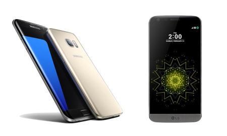 Samsung Galaxy S7 LG G5 Header