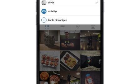 instagram multi user ios