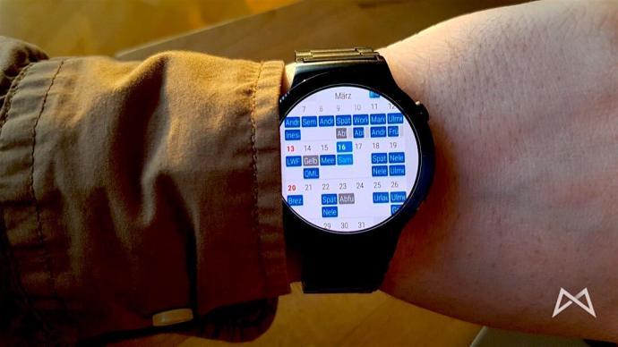 Appfour bringt hübsche Kalender-App auf Android Wear