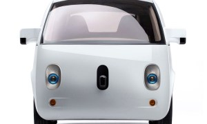 Google self driving car - front