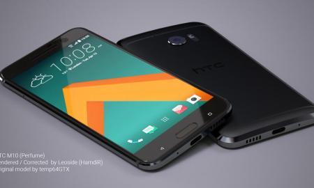 HTC 10 Konzept Schwarz