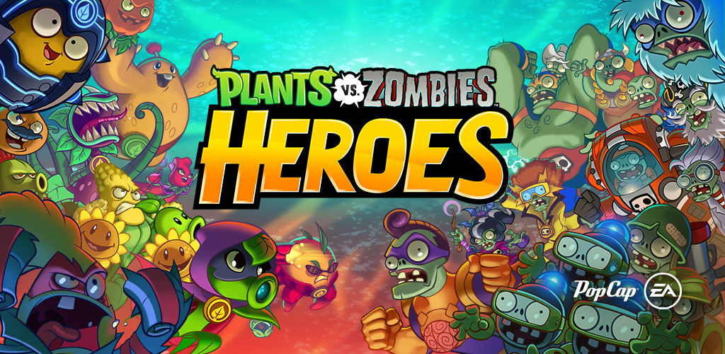 Plants vs Zombies Heores Header