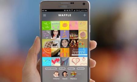 Samsung Waffle Header
