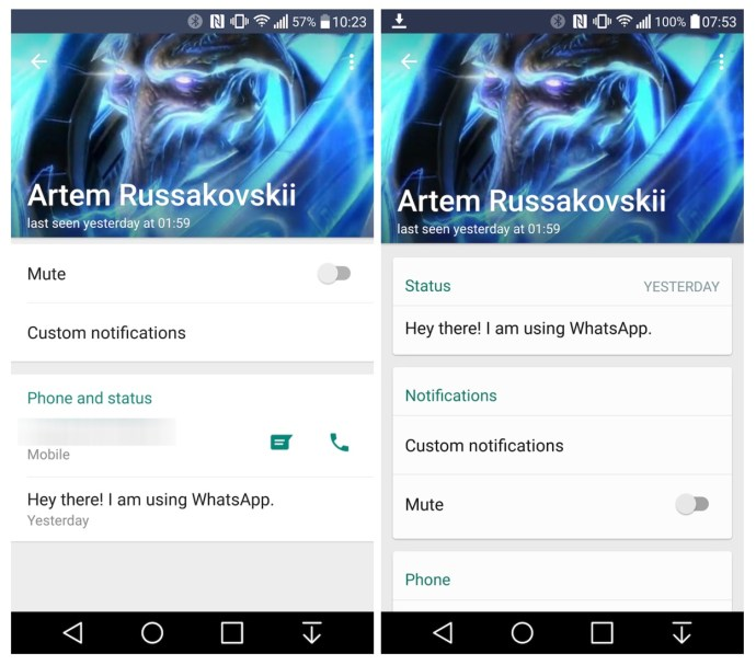 WhatsApp Android Beta Info