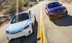 2017 Bentley Bentayga vs 2016 Tesla Model X P90D