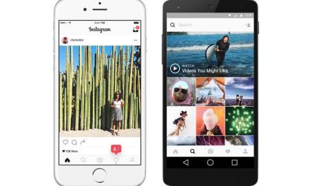 Instagram Design Neu Header