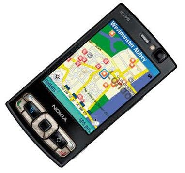 Nokia N95 8GB maps