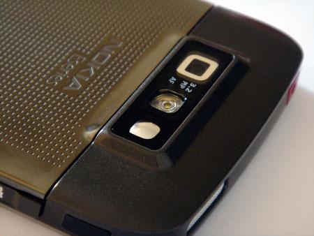 Nokia E71 takaa kamera