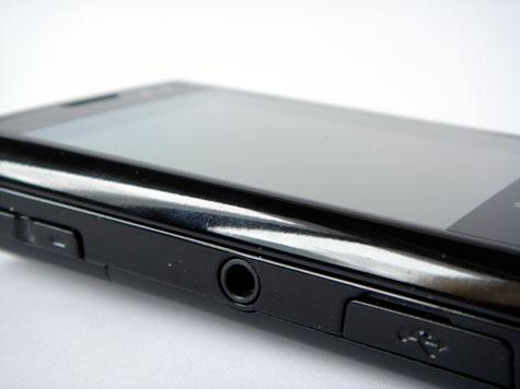 Samsung Innov8 kuulokeliitin