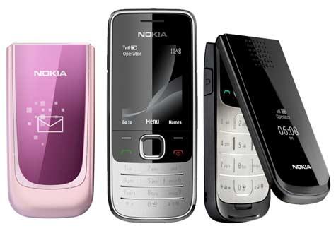 Nokia 7020, 2730 classic ja 2720 fold