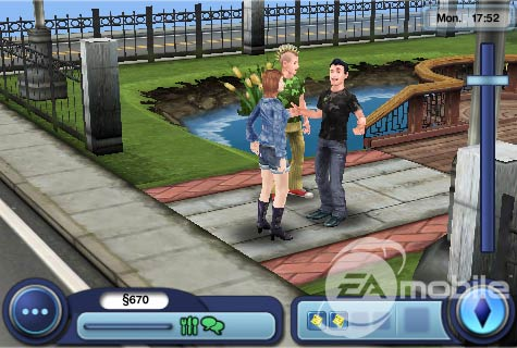 The Sims 3 iPhone