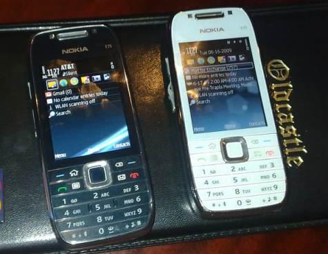 Nokia E75 valkoinen