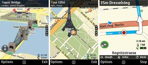 Nokia Ovi Maps 3.0 beta