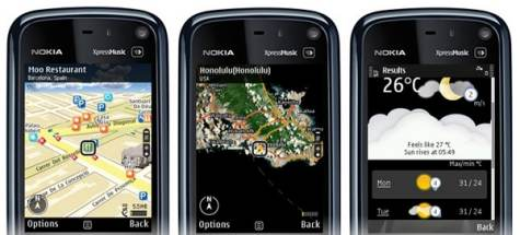 Nokia Ovi Maps 3.0