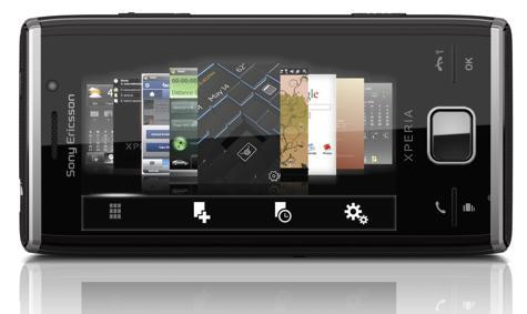 Sony Ericsson XPERIA X2 paneelit