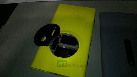 Nokia EOS, keltainen