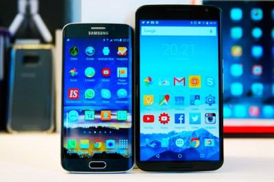 Galaxy S6 edge, Nexus 6