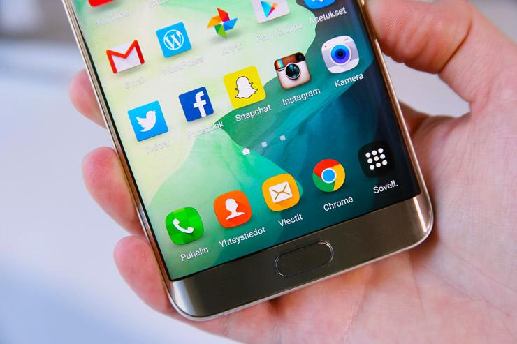 Galaxy S6 edge+ display