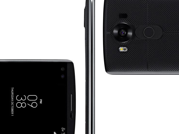 LG V10 cameras