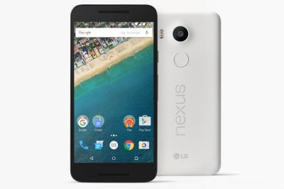 Nexus 5X valkoinen