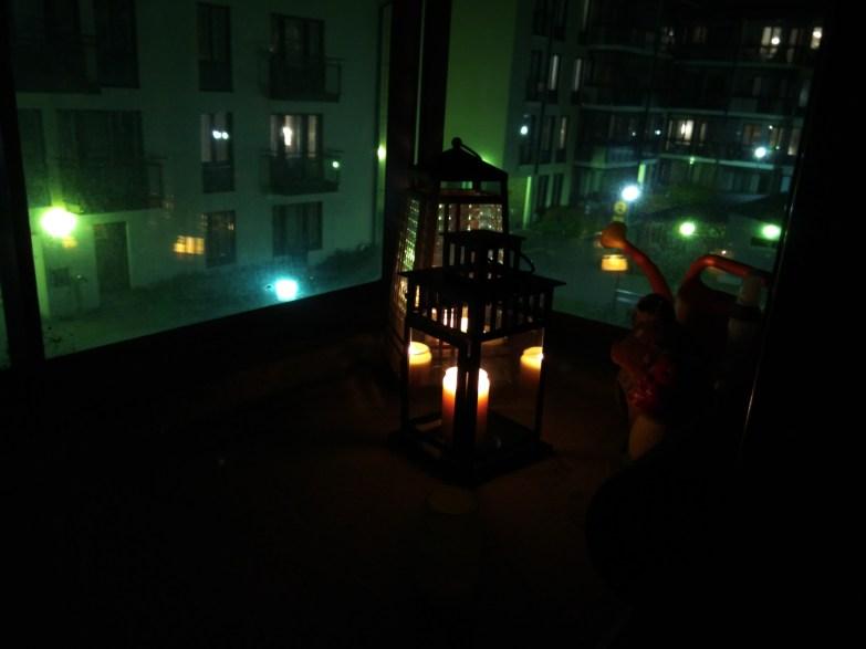 Yökuva, kynttilä