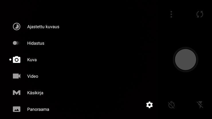 OnePlus 2, kamerasovellus