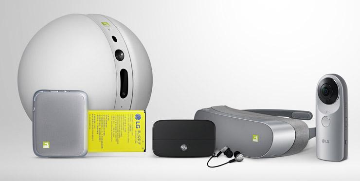 LG lisävarusteet