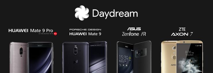 Google Daydream -puhelin