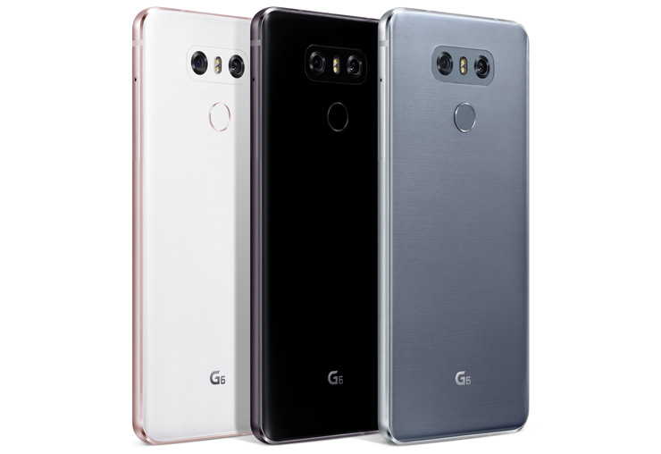 LG G6 colors