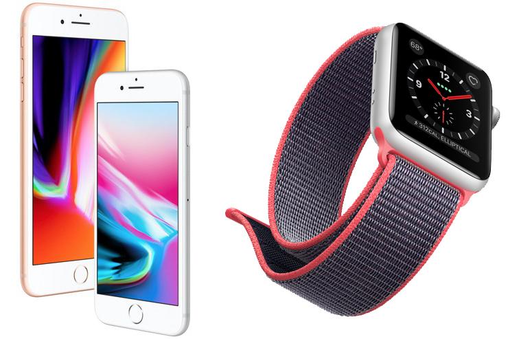 iPhone 8 Watch Series 3