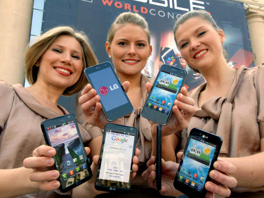 MWC 2011 LG Smartphone and Tablet Presentation