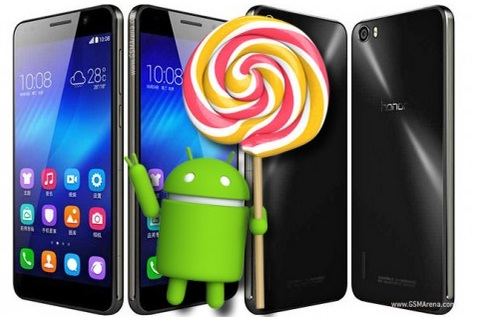 Huawei pushes Android 5.1.1 lollipop firmware update for Honor 6