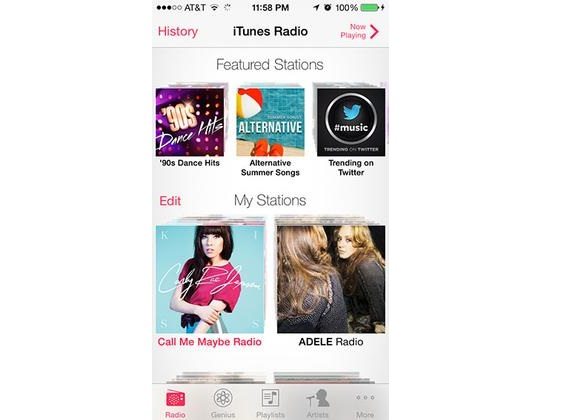 Now Pay to Use iTunes Radio