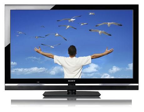 LCD TV Sony KDL 46 V 5500 Front