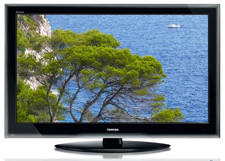 LCD TV Toshiba 42 ZV 635 Front