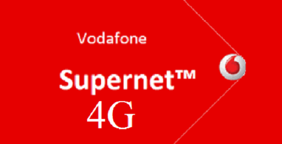 Vodafone SuperNet 4G is Expanding Their Footprints