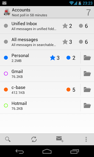 K-9 Mail Android E-Mail App
