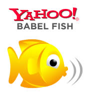 Yahoo Babel Fish