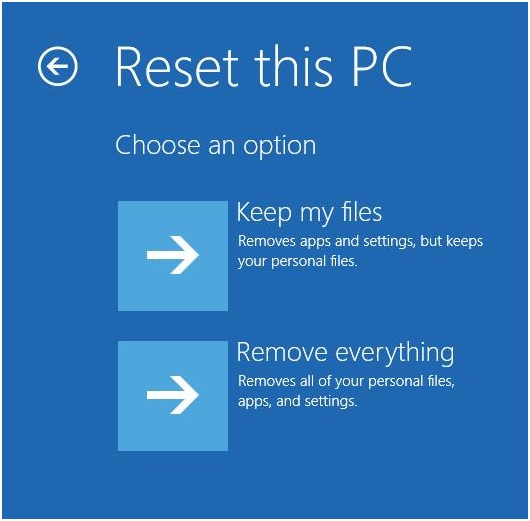 How to Factory Reset Laptop in Windows 10 8 7 - Reset this PC