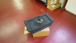Custom subwoofer for 2013 Honda Accord