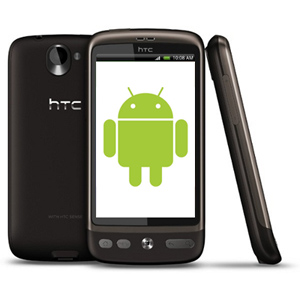 Android Market is available on the HTC Desire