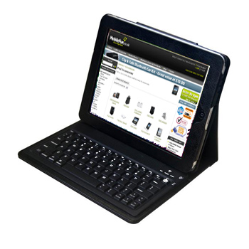 KeyCase iPad Folio Case with Built in Bluetooth Keyboard