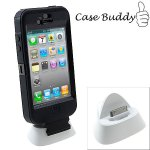 Easy docking even with a case….. say hello to the CaseBuddy