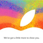 Apple holding iPad Mini event on October 23rd
